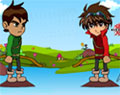 Ben 10 vs Bakugan no Arco e Flecha